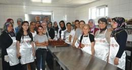 TSO'da aşçılık kursu sona erdi