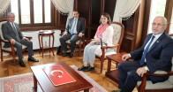 Vali Doğan Slovenya Büyükelçisi'ni Kabul Etti
