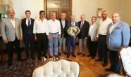 Oda Başkanlarından Vali Doğan'a Ziyaret
