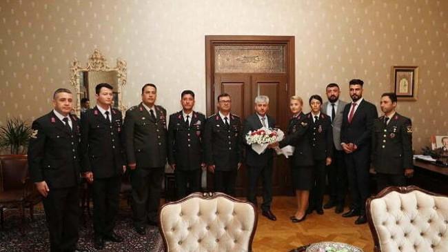 Jandarma'dan 180. Yıl Ziyareti
