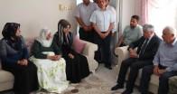 Vali Doğan'dan Şehit Barış'ın Ailesine Taziye ziyareti
