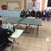 Türk ve Suriyeli öğretmenler masa tenisi  turnuvasında yarıştı