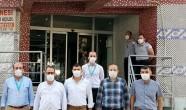 Mustafa Hambolat, Sağlık Hizmetlerini yerinde inceledi