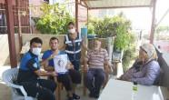 EMNİYET MÜDÜRLÜĞÜ EKİPLERİ POLİS HAYRANI GÖKHAN'I  ZİYARET ETTİ