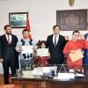 Down sendromlu çocuklar, Cumhuriyet Başsavcısı  Öztürk'ü ziyaret etti