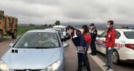 Jandarma ve  Kızılay'dan  sürücülere koronavirüs uyarısı