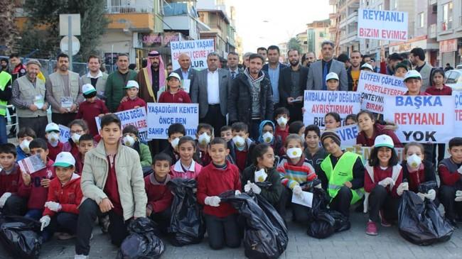 Reyhanlı'da Çevre Bilinci ve Toplumsal Farkındalık Etkinliği Düzenlendi
