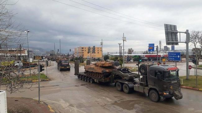 Sınır birliklerine zırhlı araç  takviyesi devam ediyor