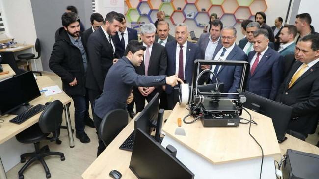 Reyhanlı'da Yazılım Tasarım Beceri Atölyesi Açılışı Yapıldı