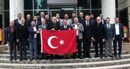 STK'lardan Mehmetçiklere Destek Ziyareti