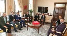 Zaroğlu'dan Vali Doğan'a  Ziyaret