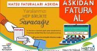 """BAŞKAN SAVAŞ  """"ASKIDA FATURA""""  UYGULAMASINI BAŞLATTI"""