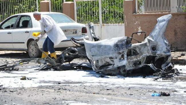 Reyhanlı'da, patlayan bomba yüklü otomobille ilgili 16 kişi gözaltında