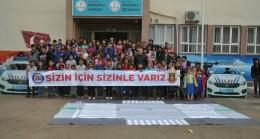 Jandarma'dan ilkokul öğrencilerine trafik eğitimi