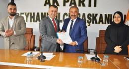 Siyasetin deneyimli ismi Hacıoğlu, AK Parti'den  belediye başkanlığına aday adaylığını açıkladı