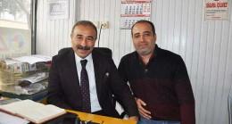 Saruhan'dan Gazetemize  Ziyaret