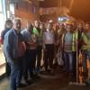 Başkan Hacıoğlu Belediye Temizlik İşçilerinin Çalışmalarını Yerinde İnceledi