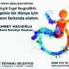 Başkan Hacıoğlu'nun  Dünya Engelliler Haftası Mesajı