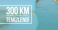 300 KM TARIMSAL SULAMA KANALI TEMİZLENDİ