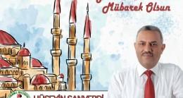 Başkan Şanverdi'nin  Berat Kandili Mesajı