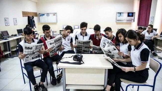 Liseli gazeteci adayları  sahaya çıkacak