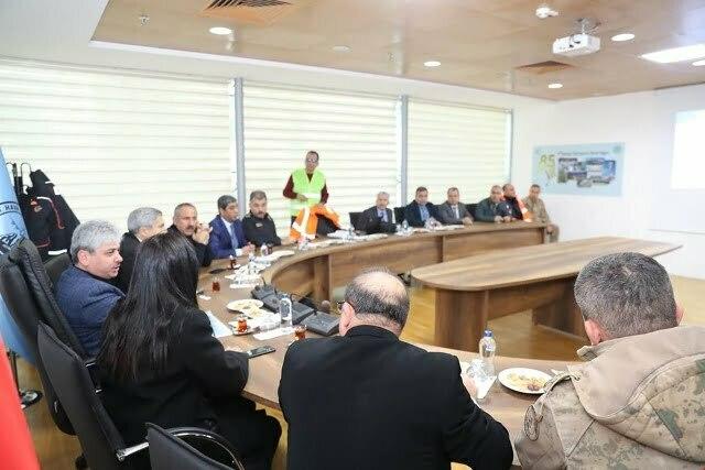 Vali Doğan Başkanlığında Toplantı Yapıldı