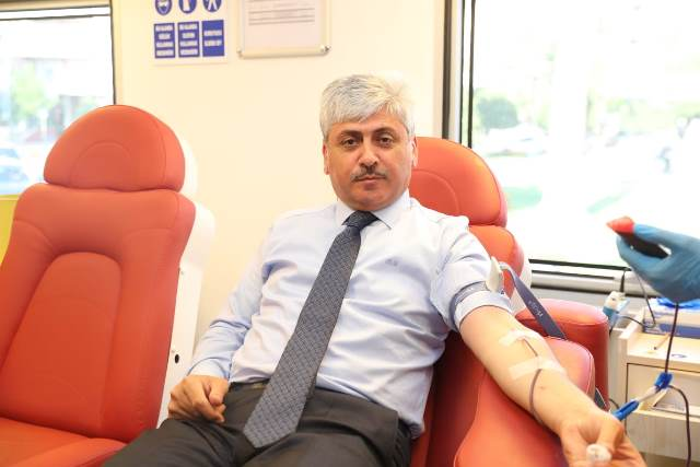 Vali Doğan, Kan Bağışı Kampanyasına Destek Verdi
