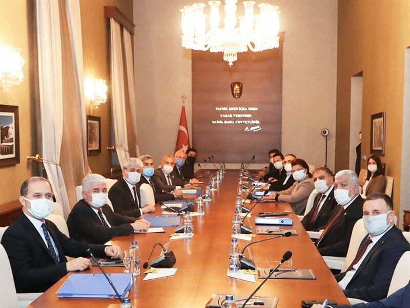 Vali Doğan Başkanlığında Toplantı Gerçekleştirildi