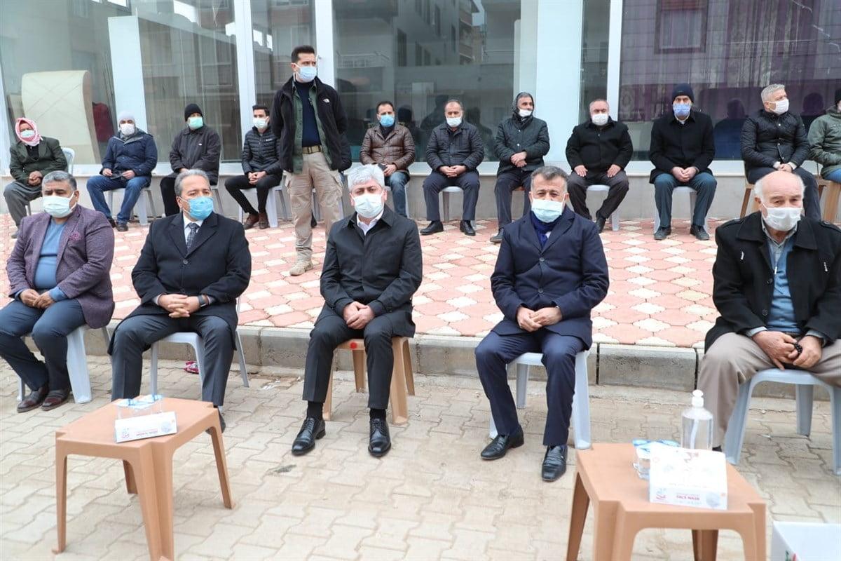 Vali Doğan'dan  Hacıoğlu'na Taziye ziyareti