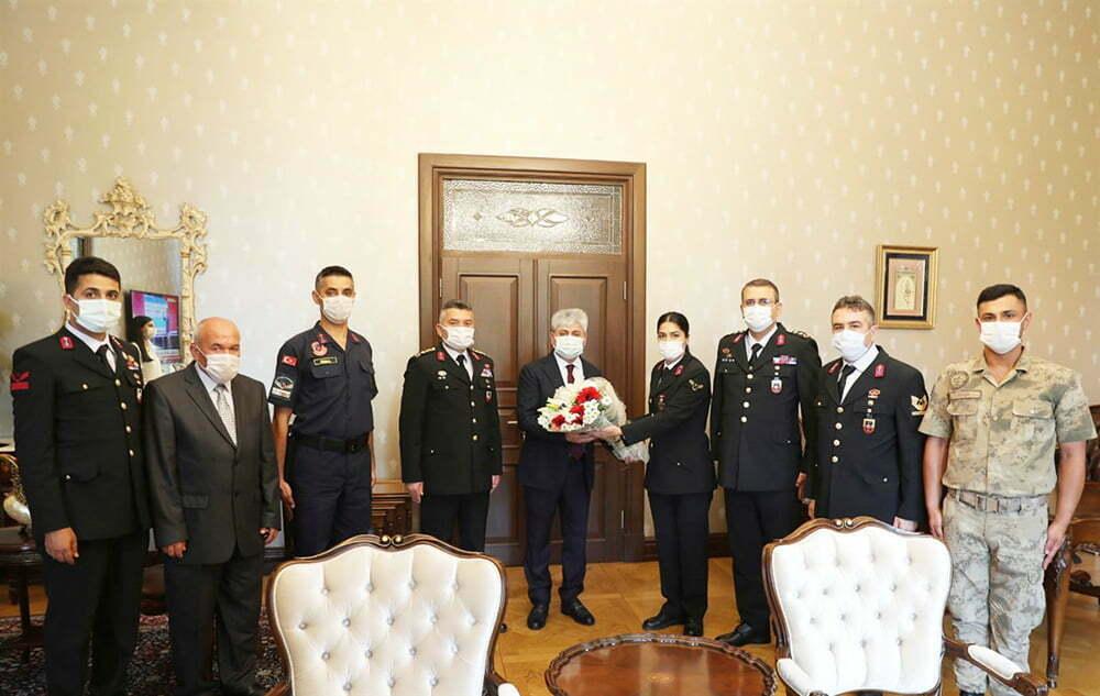 Jandarma'dan 182. Yıl Ziyareti
