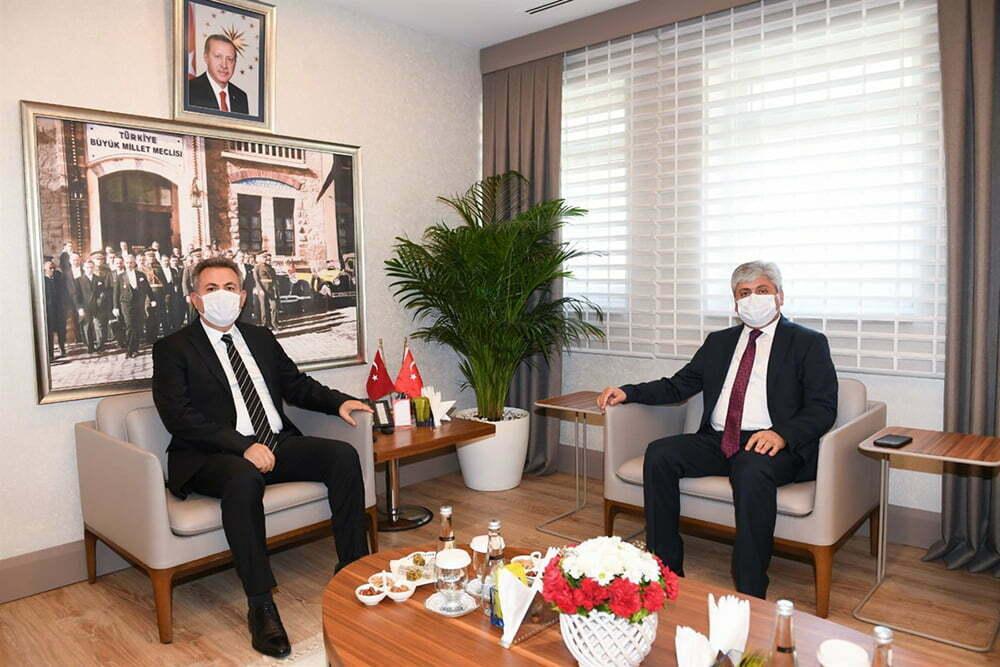 Vali Doğan'dan Adana Valisi Elban'a Ziyaret