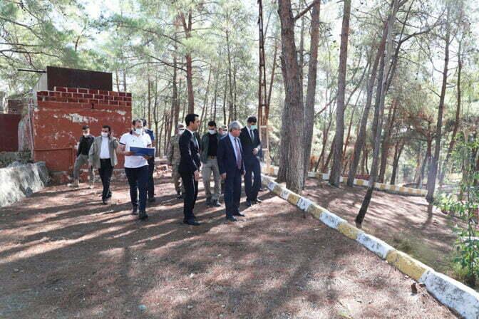 Vali Doğan, Erzin Şahin Tepesi Tabiat Parkını İnceledi