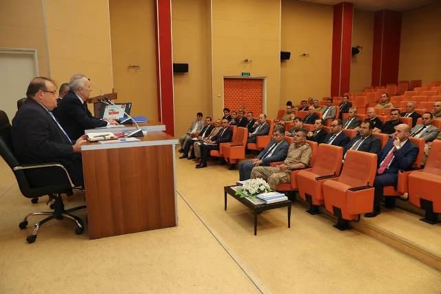 Vali Ata, Seçim Güvenlik Toplantısı Yaptı