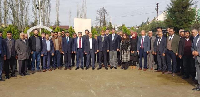 Başkan Adayı Güler, memleketi Reyhanlı'da temaslarda bulundu