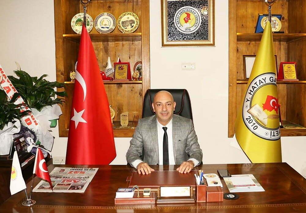 HGC Başkanı Abdullah Temizyürek: GAZETECİLERİN HAK ELDE ETTİKLERİ BİR YIL OLMASINI DİLİYORUM