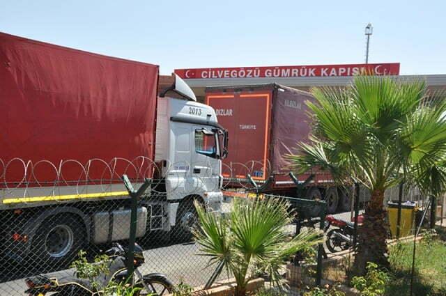 Suriye'ye ihracat sürüyor