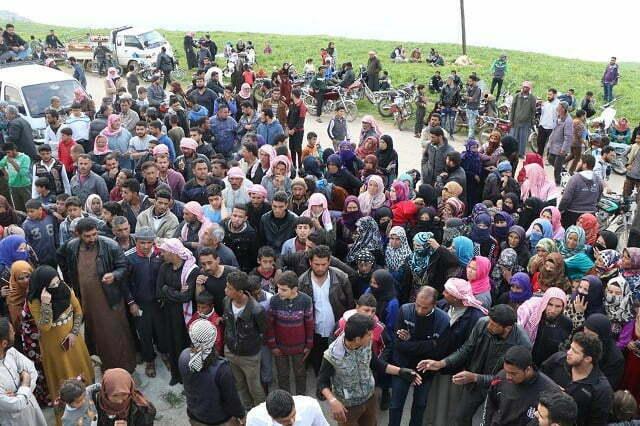 Ramazan ayı öncesinde İdlib'te göç krizi