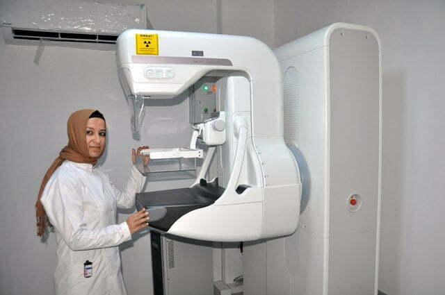 Kanser taramasında mamografi cihazı hizmete girdi