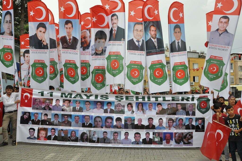 11 Mayıs Reyhanlı Saldırısında Hayatını Kaybedenler Anıldı