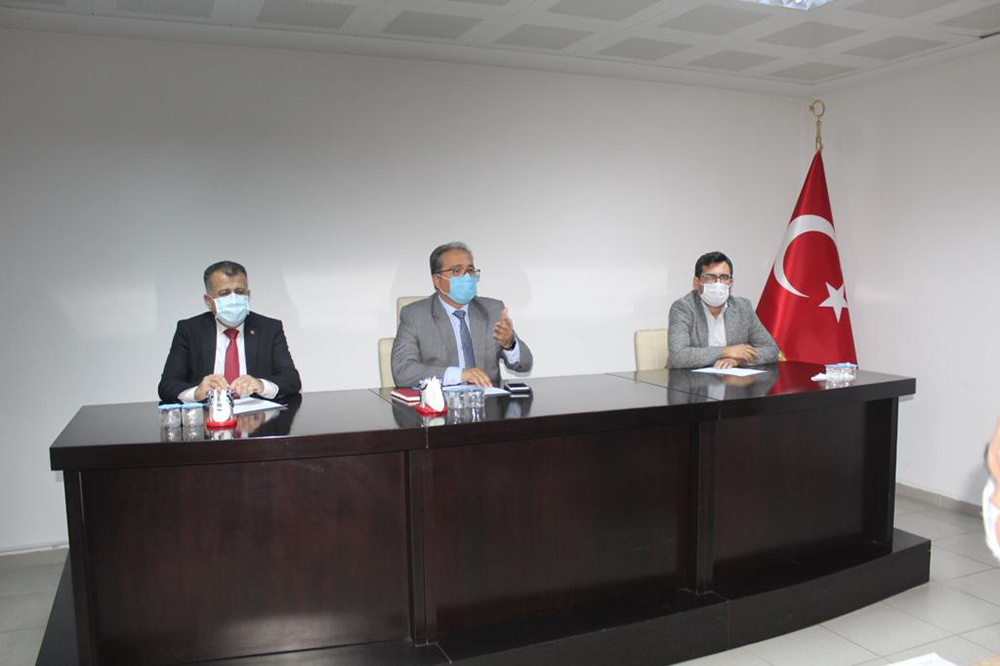 Reyhanlı'da Salgın Denetimi Toplantısı Yapıldı