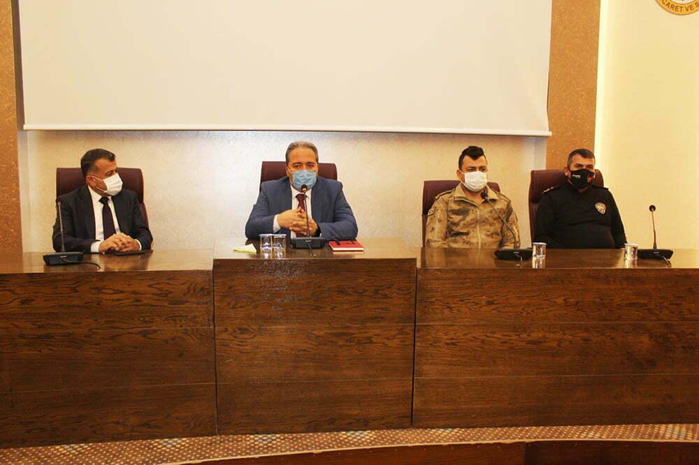2021 Yılı İlçe İdare Şube Başkanları Toplantısı Yapıldı