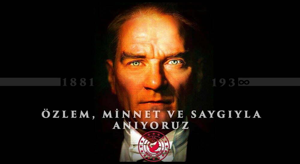 Vali Doğan'ın  10 Kasım  Atatürk'ü Anma Günü Mesajı