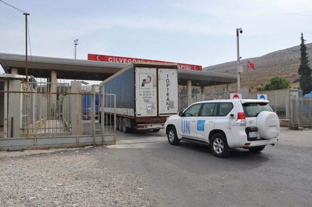 BM'nin Suriye'ye yardımları sürüyor