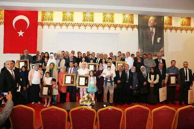 Vali Doğan, Devlet Övünç Madalyası Tevcih Etti