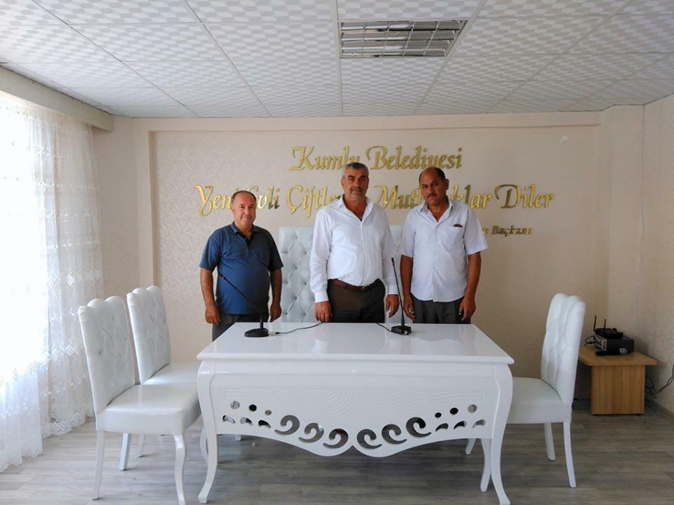 Kumlu Belediyesi Nikah Salonu Hizmete Açıldı