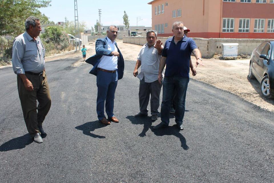 Reyhanlı Belediyesi'nden  Yol Çalışmaları Devam Ediyor