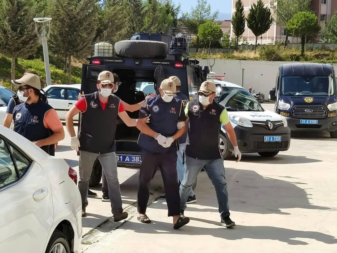 Reyhanlı saldırısının sorumlularından Ercan Bayat  adliyeye sevk edildi