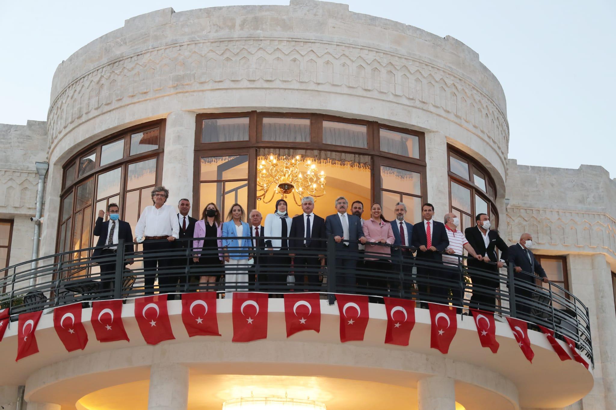 Hatay Valiliği Meclis Kültür ve Sanat Merkezi ile Antakya Konağı'nın  Açılışı Gerçekleştirildi