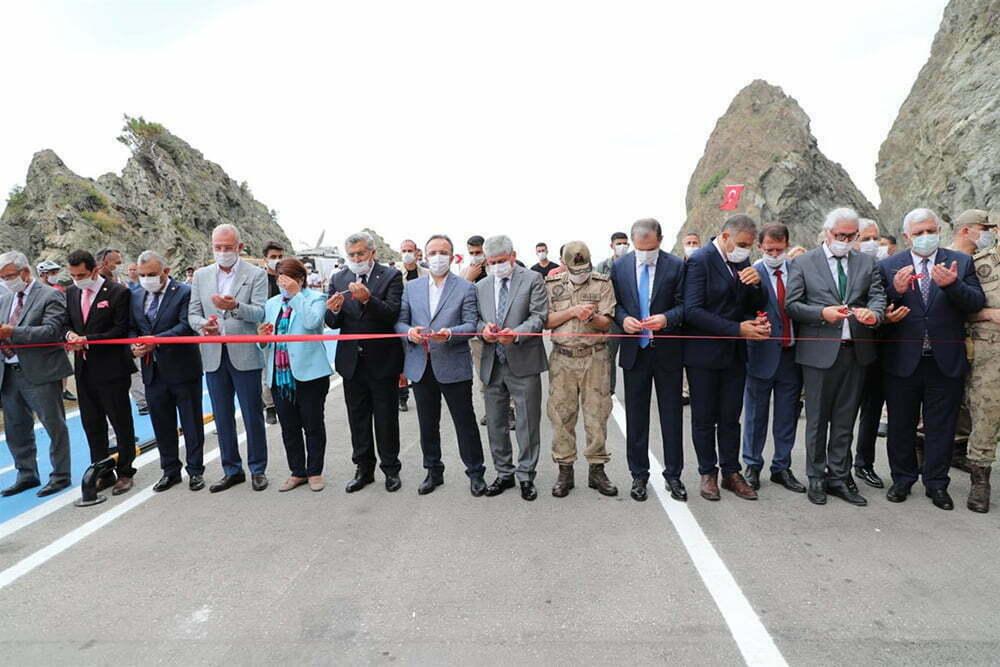 Samandağ Çevlik- Arsuz Kale Yolu Açıldı