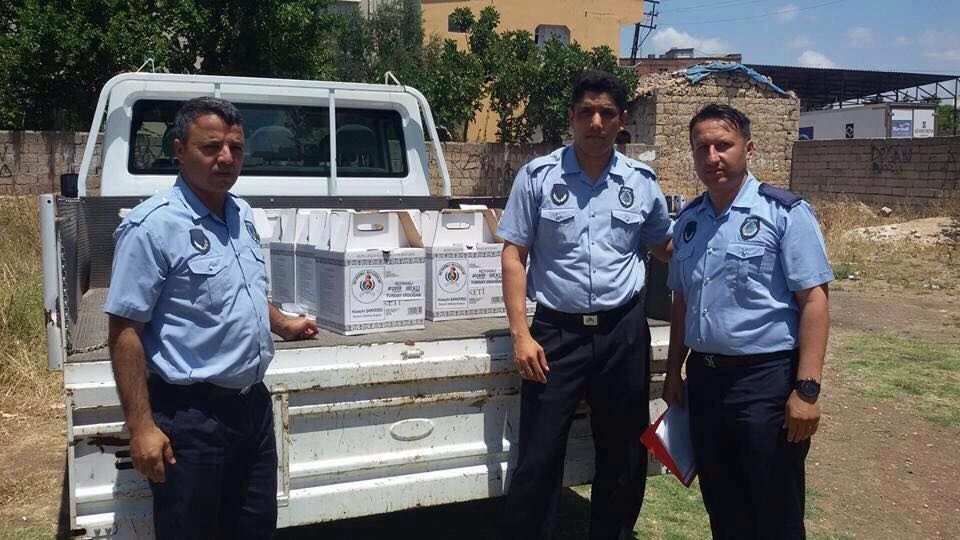 Reyhanlı Belediyesi Dar Gelirli Ailelere Ramazan Paketi Dağıtmaya Başladı